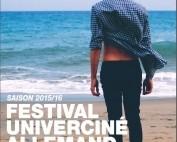 Affiche festival Univerciné 2015 2016